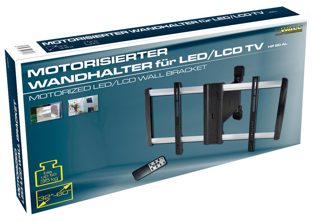 Transmedia MyWall Elektrischer Motorisierter TV Wandhalter HP 20 AL    199.00EUR : Digital Sat Online.de   Online Shop