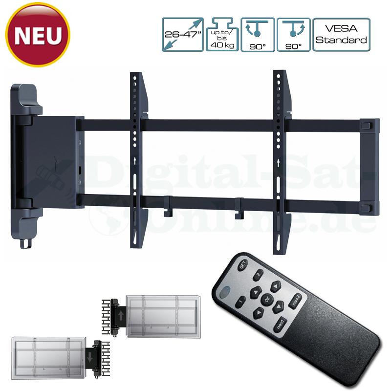 Transmedia MyWall Elektrischer Motorisierter TV Wandhalter HP 22 L