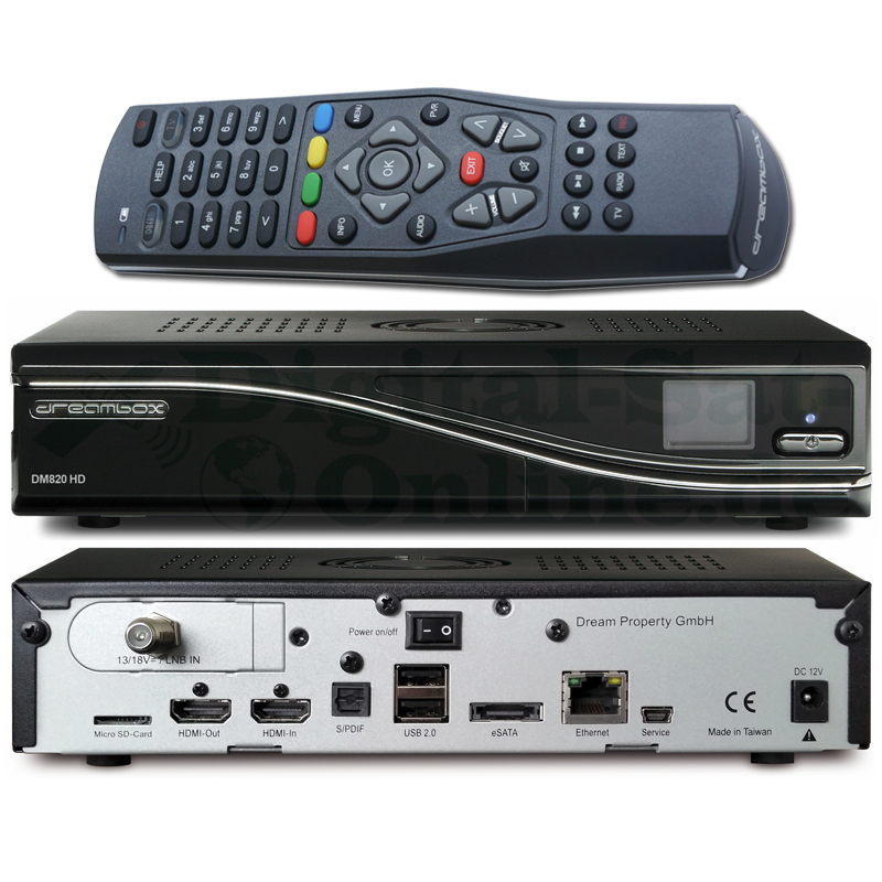 Dreambox DM820 HD DVBS2 PVR ready USB LAN