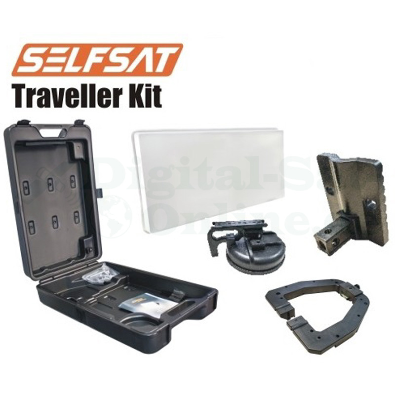 Selfsat Traveller Kit TK30D Single Camping Koffer