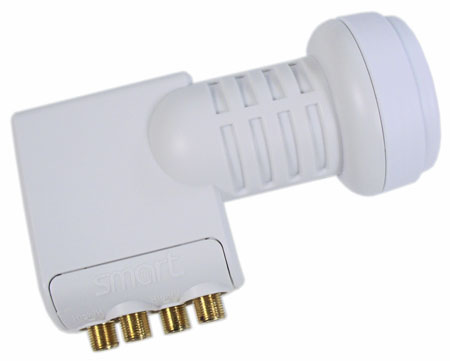 Smart Titanium Quad LNB TS 0,1dB