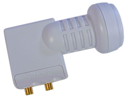 Smart Titanium Twin LNB TS 0,1dB